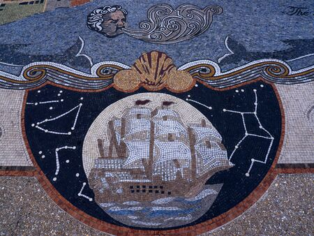 Mosaic at the Visitor Centre at St Augustine Florida