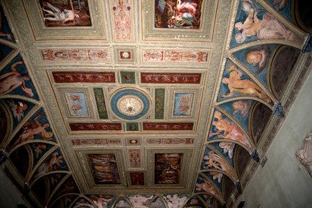 brenda kean: Decorated Ceiling in Palazzo in Genoa Italy