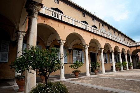 brenda kean: Palazzo Doria Pamphili in Genoa Italy