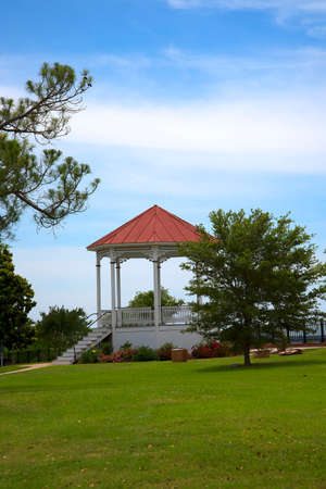 bandstand: Bandstand in Natchez Mississippi in the USA