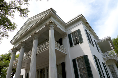 Beautiful Antebellum House in Natchez Mississippi in the USA