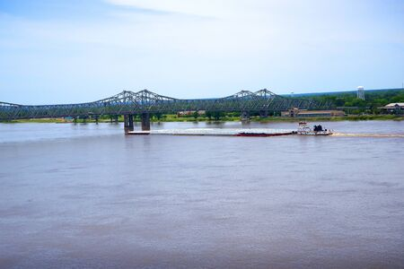 Natchez under the Hill by the mighty Mississippi River in the USA