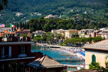 The resort of Santa Margherita in Ligure in Italy