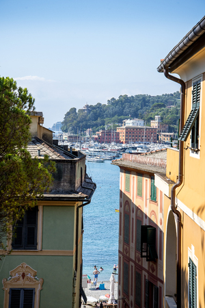 margherita: The resort of Santa Margherita in Ligure in Italy