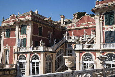 Palazzo Reale is a Savoy mansion and National Museum on the Via Balbi in Genoa Italy