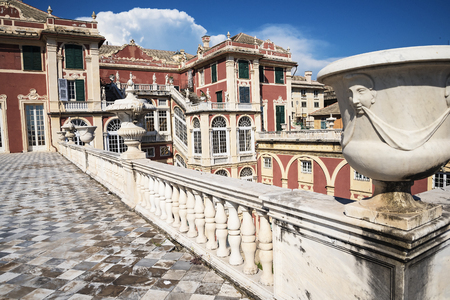 reale: Palazzo Reale is a Savoy mansion and National Museum on the Via Balbi in Genoa Italy