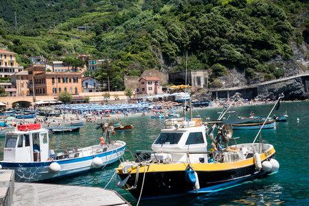 The fishing villages of Monterosso al Mare,Vernazza, Corniglia, Manorola, all reached from Porto Venere,  on the Cinqueterra coastline of Liguria in Northern Italy.