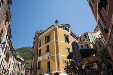 The fishing villages of Monterosso al Mare,Vernazza, Corniglia, Manorola, all reached from Porto Venere,  on the Cinqueterra coastline of Liguria in Northern Italy.