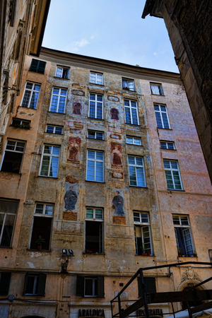 felice: Typical Architecture in Genoa Italy
