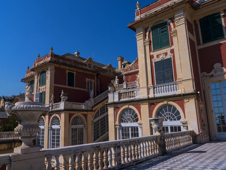 palazzo: Palazzo Reale is a Savoy mansion and National Museum on the Via Balbi in Genoa Italy