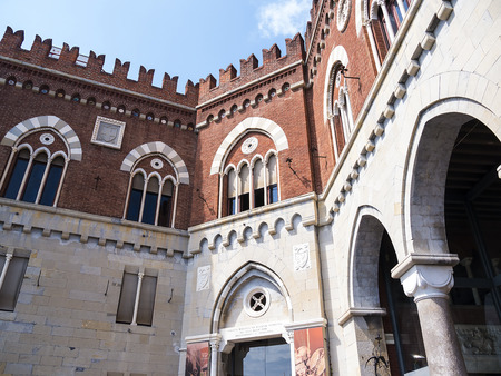 The Castello dAlbertis is a historical residence in Genoa. It was the home of sea captain Enrico Alberto dAlbertis Editorial