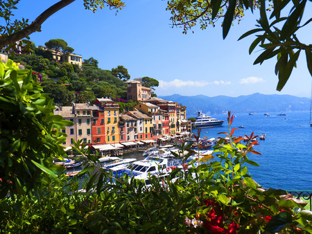 Portofino  is an Italian fishing village and vacation resort famous for its picturesque harbour and historical association with celebrity and artistic visitors Editorial