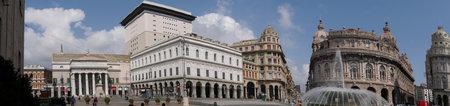 felice: Piazza De Ferrari is the main square of Genoa Italy
