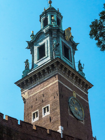 portcullis: Royal Wawel Castle  and Cathedral in Krakow Poland
