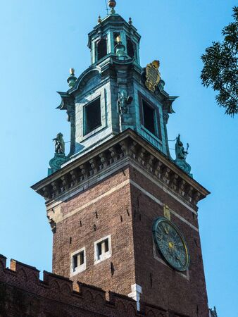Royal Wawel Castle  and Cathedral in Krakow Poland