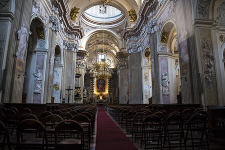 krakow: St Annes Church in Krakow Poland