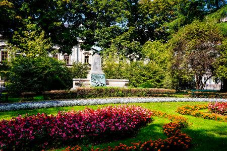 Planty Park in Krakow Poland