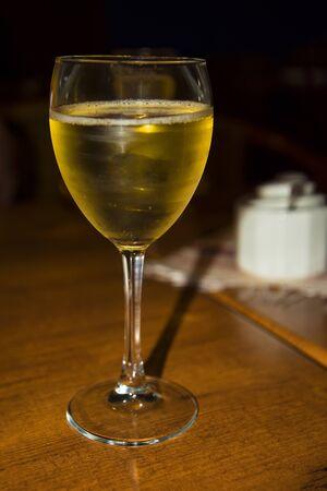 Glass of Polish Wine in Krakow Poland
