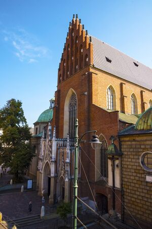 The Dominican Church in Krakow Poland