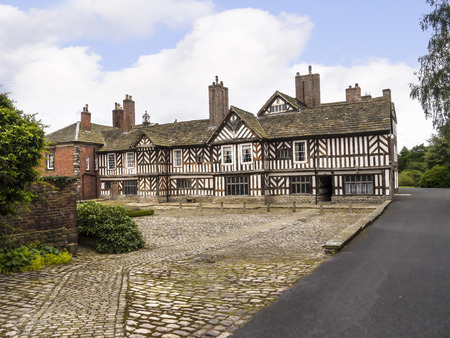 Adlington Hall is a country house near Adlington, Cheshire. The oldest part of the existing building, the Great Hall, was constructed between 1480 and 1505