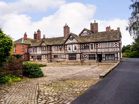 parliamentary: Adlington Hall is a country house near Adlington, Cheshire. The oldest part of the existing building, the Great Hall, was constructed between 1480 and 1505