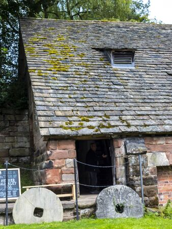 nether: Nether Alderley Mill is a 16th-century watermill located on the  Congleton Road (the A34), to the south of the village of Nether Alderley, Cheshire, England.