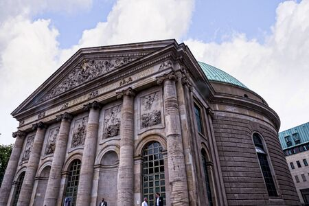 St Hedwigs Catholic Cathedral In Berlin Germany Editorial