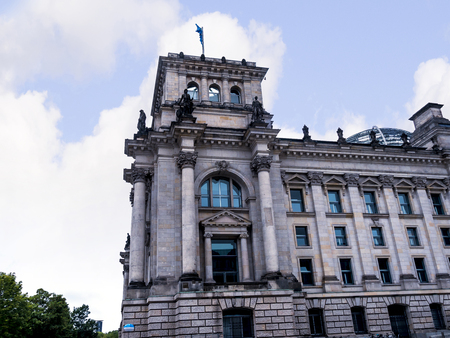 The Reichstag is a historic edifice in Berlin, Germany, constructed to house the Imperial Diet of the German Empire. It was opened in 1894 and housed the Diet until 1933, when it was severely damaged after being set on fire Editorial