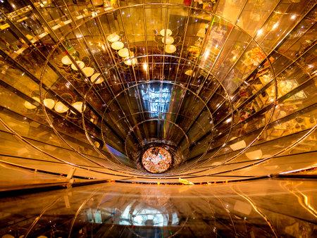 diameter: Stunning Shopping Arcade in Berlin Germany Editorial