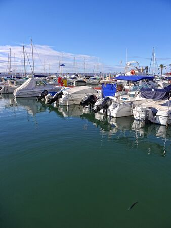 Marina in the stylish resort of Marbella on the Costa Del Sol in Andalucia Spain