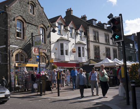 Keswick lies in north-western England, in the heart of the northern Lake District. Keswick is a market town in northwest England's Lake District National Park, surrounded by mountains like Skiddaw