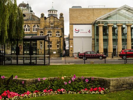 Harrogate is a spa town in North Yorkshire, England.  Historically in the West Riding of Yorkshire, the town is a tourist destination and its visitor attractions include its spa waters