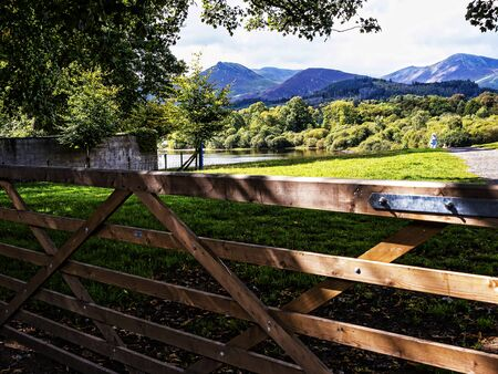 Derwentwater is one Keswicks main assets. Derwentwater is only a short stroll from the town centre via Hope Park with its beautiful formal gardens
