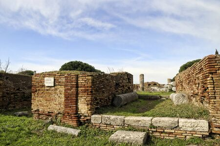 Ostia Antico is the old port of Rome which was just abandoned and left to the elements centuries ago