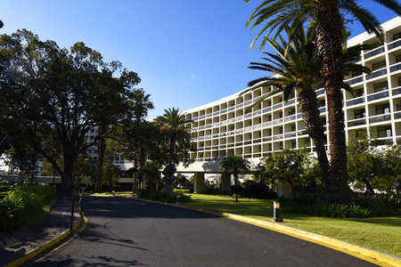 Luxury hotel in Funchal Madeira Portugal Editorial