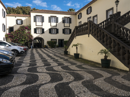 The waterfront fort of San Lourenzo which guarded the harbour in Funchal Editorial