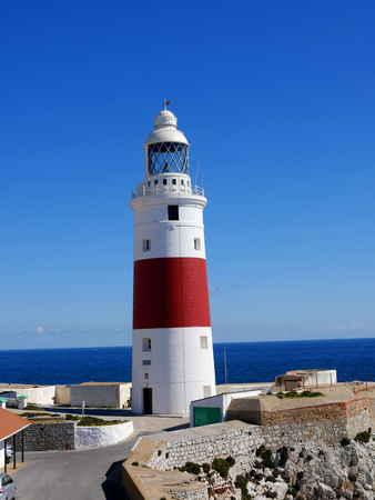 The lighthouse at Europa Point on the rock of Gibraltar is the first or the last Lighthouse in Europe