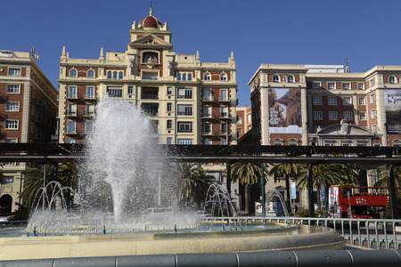 Malaga is the Capital  city of the province of Andalucia in Southern Spain Editorial