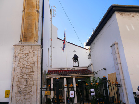 Garrison Church of St Bernard on the Rock of Gibraltar