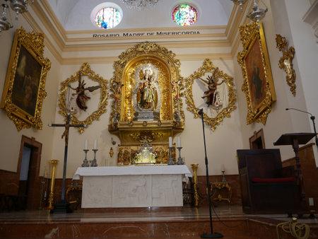 The Parish Church in Fuengirola on the Costa del Sol Sp