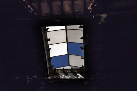 Skylight in Herculaneum, or Ercolana, near Naples in Italy was not buried by falling rocks like Pompeii was in the eruption of Vesuvius in 79AD, instead it was engulfed in boiling mud and superheated air. Editorial