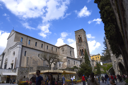 The Parish Church in the Mountain Town of Ravello above Amalfi Italy