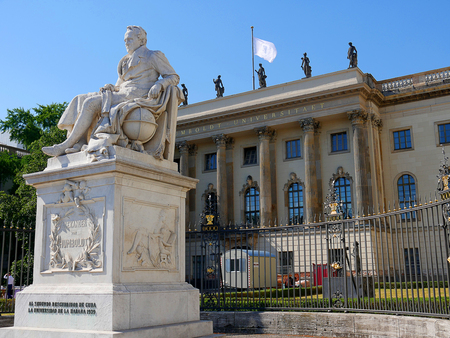 The Humboldt University in Berlin Germany