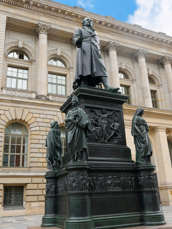The Humboldt University was originally the Berlin University but in 1949 it was renamed in honour of its founder Willhelm von Humboldt, a linguist, lawyer and politician. Famous Scholars include Physicists Albert Einstein and  Max Planck and Marx and Enge