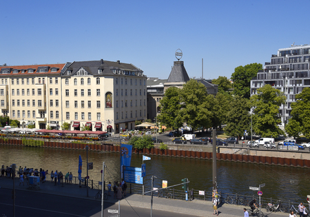 River Cruises can be taken on the River Spree from Various Points in Berlin Germany Sajtókép