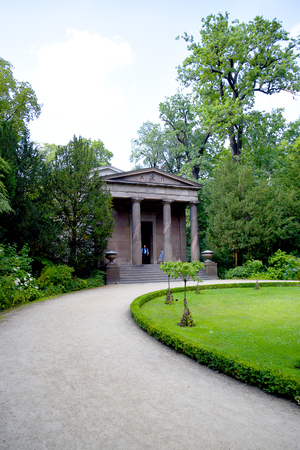 The Mausoleum at the Charlottenburg palace is the largest palace in Berlin.The original palace was commissioned by Sophie Charlotte, the wife of Friedrich I, Elector of Brandenburg