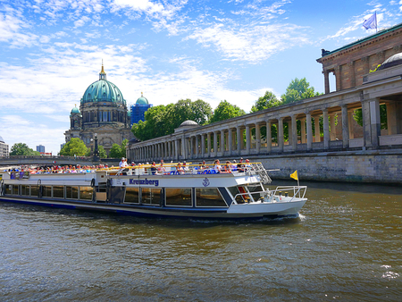 River Cruiser on the River Spree in Berlin Germany