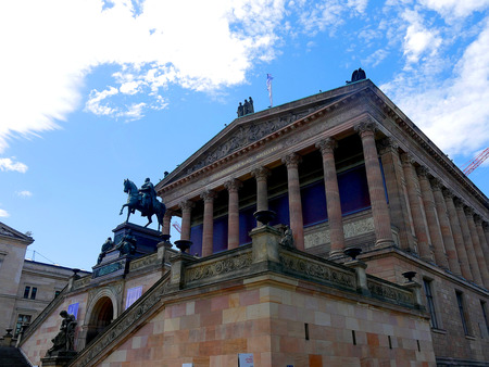 The National Portrait Gallery on Museum Island in Berlin Germany