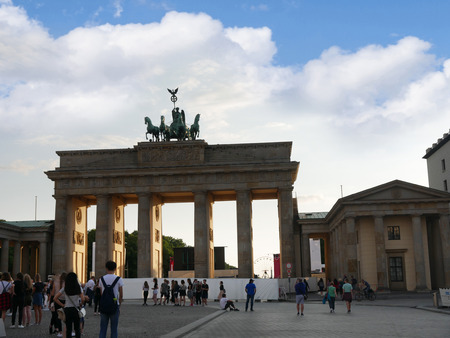 Brandenburg Gate is Berlins most famous landmark. A symbol of Berlin and German division during the Cold War, it is now a national symbol of peace and unity.