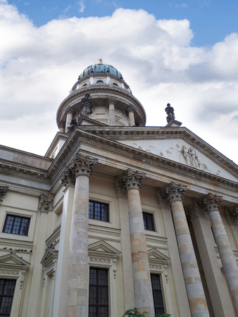 The Gendarmenmarkt is a square in Berlin and the site of an architectural ensemble including the Konzerthaus and the French and German Churches. Editorial